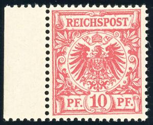 DR-1890-MiNr-47-b-tadellos-postfrisch-gepr-Wiegand-Mi-120