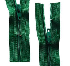 Reißverschluss für Bettwäsche 1 Weg  weiß schließbare Länge 30-200 cm