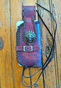 handmade-leather-belt-phone-case-woven-with-leather-lace-engraved-vintage