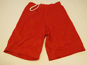 Don Alleson Athletic sliding shorts 1 pair red athletic sports M womens NOS