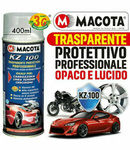 Bomboletta Spray Vernice Trasparente Macota KZ 100 Lucido e Opaco Smalto Spray