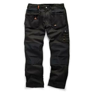 Scruffs-Worker-Plus-Trade-Trousers-Cargo-Holster-Pockets-Hardwearing-Work-Pants