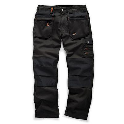 Scruffs BLACK WORKER PLUS TrousersTrade Hard Wearing Work Trousers