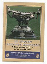 Orig.PRG    Intern.Turnier  08.09.1998   REAL MADRID - CA PENAROL  !!  SELTEN