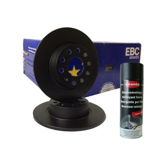 EBC Disco PREMIUM d1772 272x10mm TRASERO PR 1ks 1ke 1kt para VW GOLF toda la