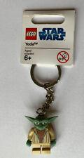 - BNWT STAR WARS 852550 YODA THE CLONE WARS LEGO KEY CHAIN -