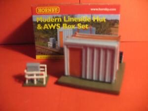 "Raisonnable Hornby Skaledale R8675 Modern Line Side Building & Aws Box Set ""00"" Scale Facile Et Simple à Manipuler"