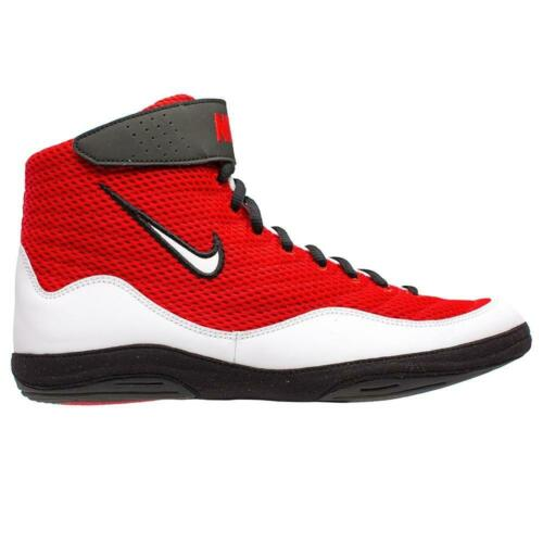 Wrestling Shoes Boots NIKE INFLICT 3 Ringerschuhe Chaussures de Lutte Red//White
