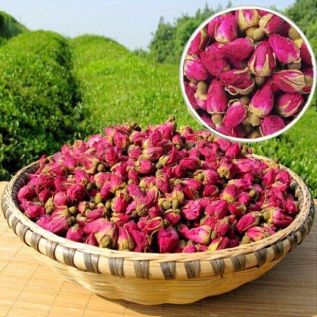 50~ 500g Red Rosebud Rose Buds Flower Floral Herbal Dried Health Chinese Tea