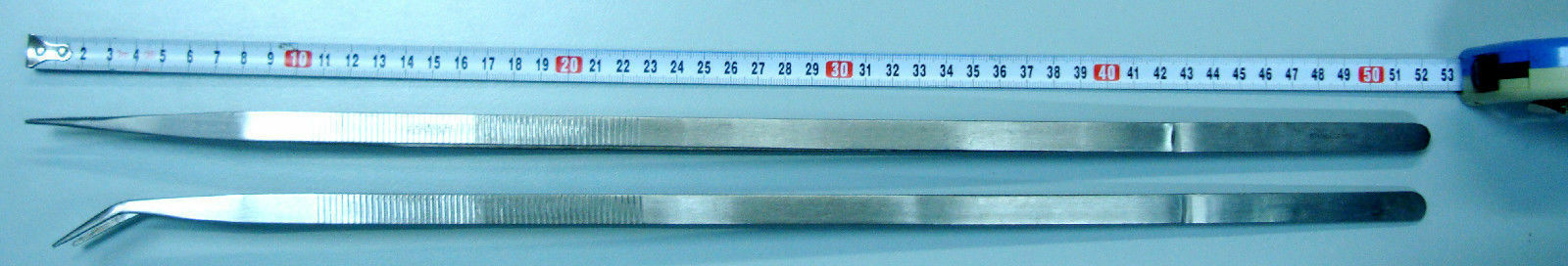 2 pcs Set or a pair of 20  500 mm EXTRA Long STAINLESS STEEL TWEEZERS -