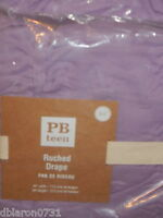 Pottery Barn Teen Ruched Drapes 84 (2) Lilac