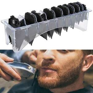 10Pcs Hair Clipper Limit Comb Guide Attachment Size Barber Replacement For Whal