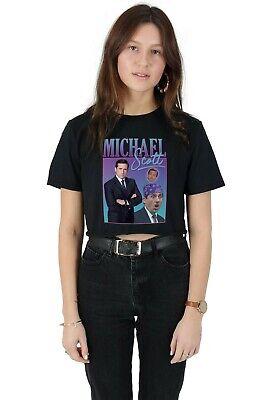 Phil Mitchell Homage Ringer Crop Top Funny UK Tribute Gift TV 90/'s Icon Legend