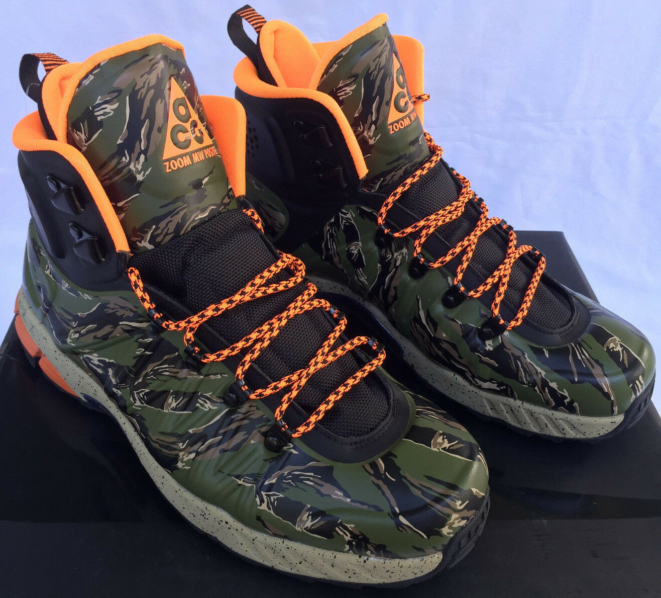 Nike Zoom MW Posite Meriwether Boots 616215-083 Camo Hunt Winter Boots Meriwether Men's 8.5 new 65a0ae