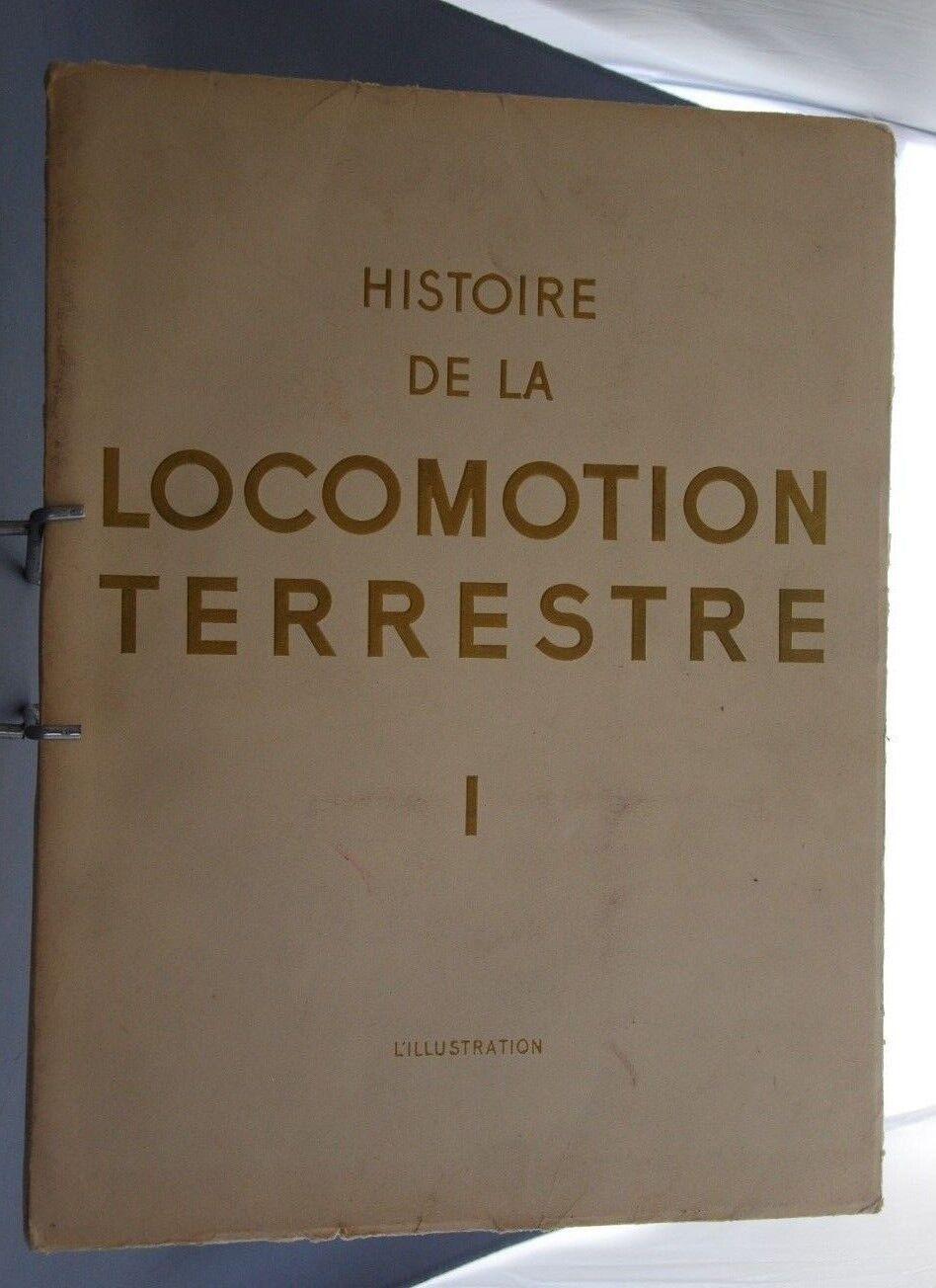 NB GAZZETTA L'ILLUSTRAZIONE HISTOIRE LOCOMOZIONE TERRESTRE SENTIERI DE FER 1942