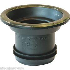"Fernco 3"" Flexible PVC Wax-Free Toilet Stool Gasket To Flange"