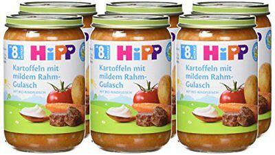Hipp Kartoffeln Mit Mildem Rahm-gulasch 6er Pack 6 X 220 G Tropf-Trocken