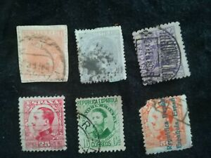 lot-N-119-6-timbres-ESPAGNE