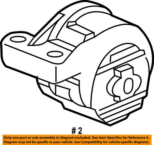Saturn GM OEM 04-07 Vue-Engine Motor Mount//Torque Strut 22727637