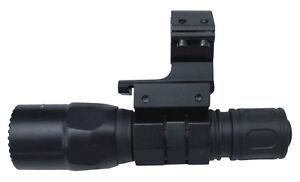 Surefire 600 Lumen Flashlight + Mount Fits Ithaca Tactical Home Defense Shotgun