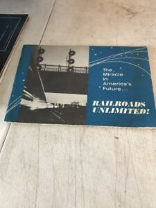 Railroads-Unlimited-booklet-The-Miracle-in-Americas-Future-written-1964
