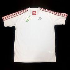 NWT Gosha Rubchinskiy Kappa Men's White Logo Crewneck T-Shirt SS17 XL AUTHENTIC