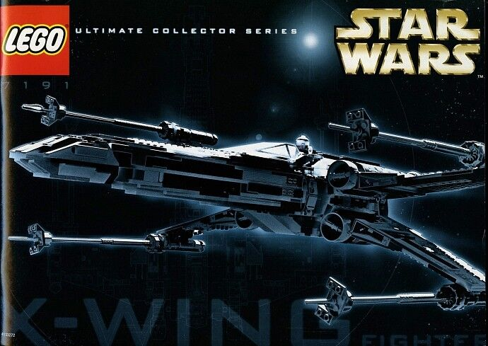 Lego Star Wars 7191 X-wing  Fighter UCS NEW Sealed VHTF