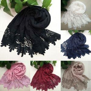 Women-Lace-Scarf-Flower-Muslim-Hijab-Shawl-Long-Scarf-Scarves-Wrap-Fashion-3C