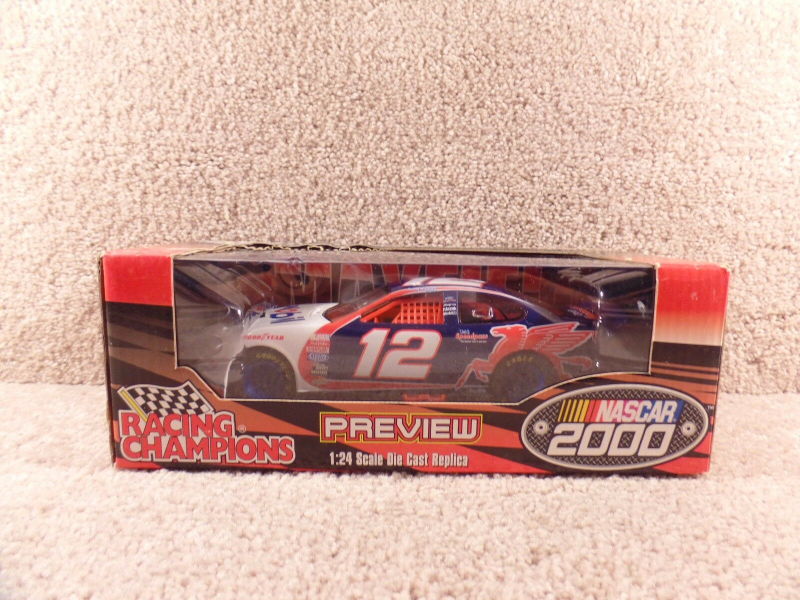 New 2000 Racing Champions 1 24 NASCAR Jeremy Mayfield Mobil Ford Taurus
