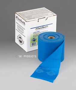 3 yards Blue Extra Heavy LATEX FREE Thera-Band Exercise Resistance Band