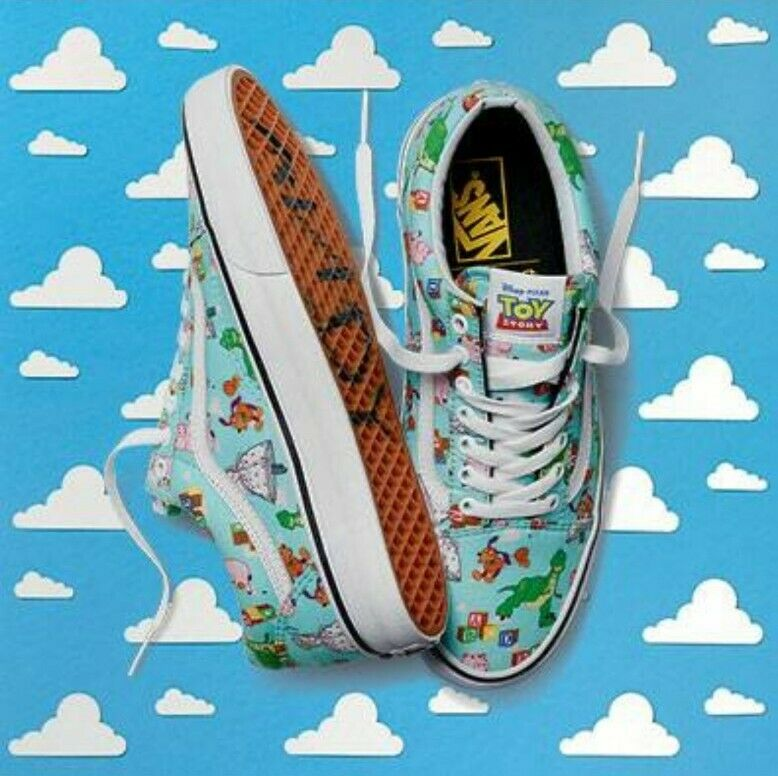 Óxido Tahití Disipar  Disney Pixar Toy Story VANS Size 10 Men's Old Skool Andys Toys for sale  online | eBay