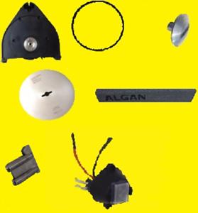 Tandir-Paket-SET-Kreismesser-Vorderteil-Zahnriemen-Schleifst-Schieber-Schraube
