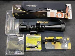 Nikon Monarch M5 Rifle Scope, Mounts, and COMPLETE LONG RANGE OPTICS PACKAGE