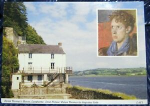 Wales-Dylan-Thomas-039-s-Boat-House-Laugharne-unposted