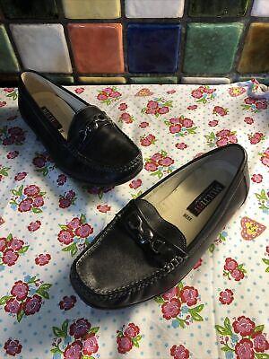 MULTIFIT Ladies Black Leather Snaffle