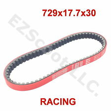 RACING DLH DRIVE BELT RED 729 x17.7x 30 GY6 4STROKE SCOOTER TAOTAO VESPA JMSTAR