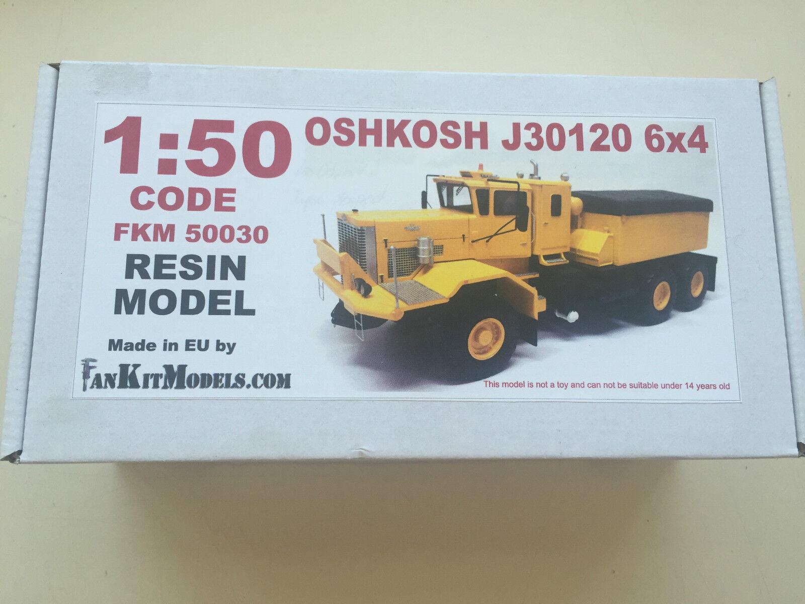 Scale 1 50 Oshkosh J30120 6x4 Prime Mover - Resin  KIT - Unbuilt and Unpainted  réduction en ligne