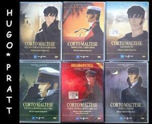 CORTO-MALTESE-6-DVD-Nuovi-Ma-Non-Sigillati-Hugo-Pratt-Etiopiche-Testa-e-Funghi