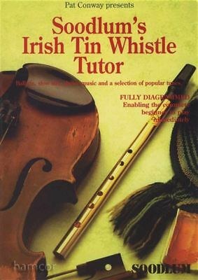 Musical Instruments & Gear Soodlum's Irish Tin Whistle Tutor Volume 1 Sheet Music Book Moderate Price