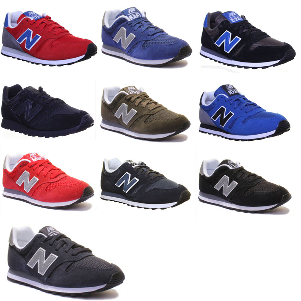 New Balance Ml 373 Modern Classic Suede Leather Trainers 3 - 6.5