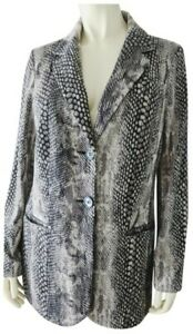 Chicos-Blazer-0-Soft-Knit-Poly-Rayon-Spandex-Button-Front-Lined-Snake-Print