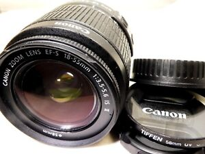 Canon-EF-S-18-55mm-f3-5-5-6-IS-II-Lens-for-digital-rebel-T5-T6i-T7-60D-70D-80D