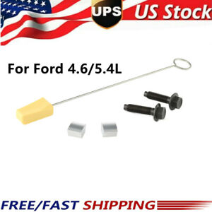 Fit Ford 4.6/5.4L 3V Cam Phaser Lock Out Kit Camshaft Bolt and Timing Chain Tool