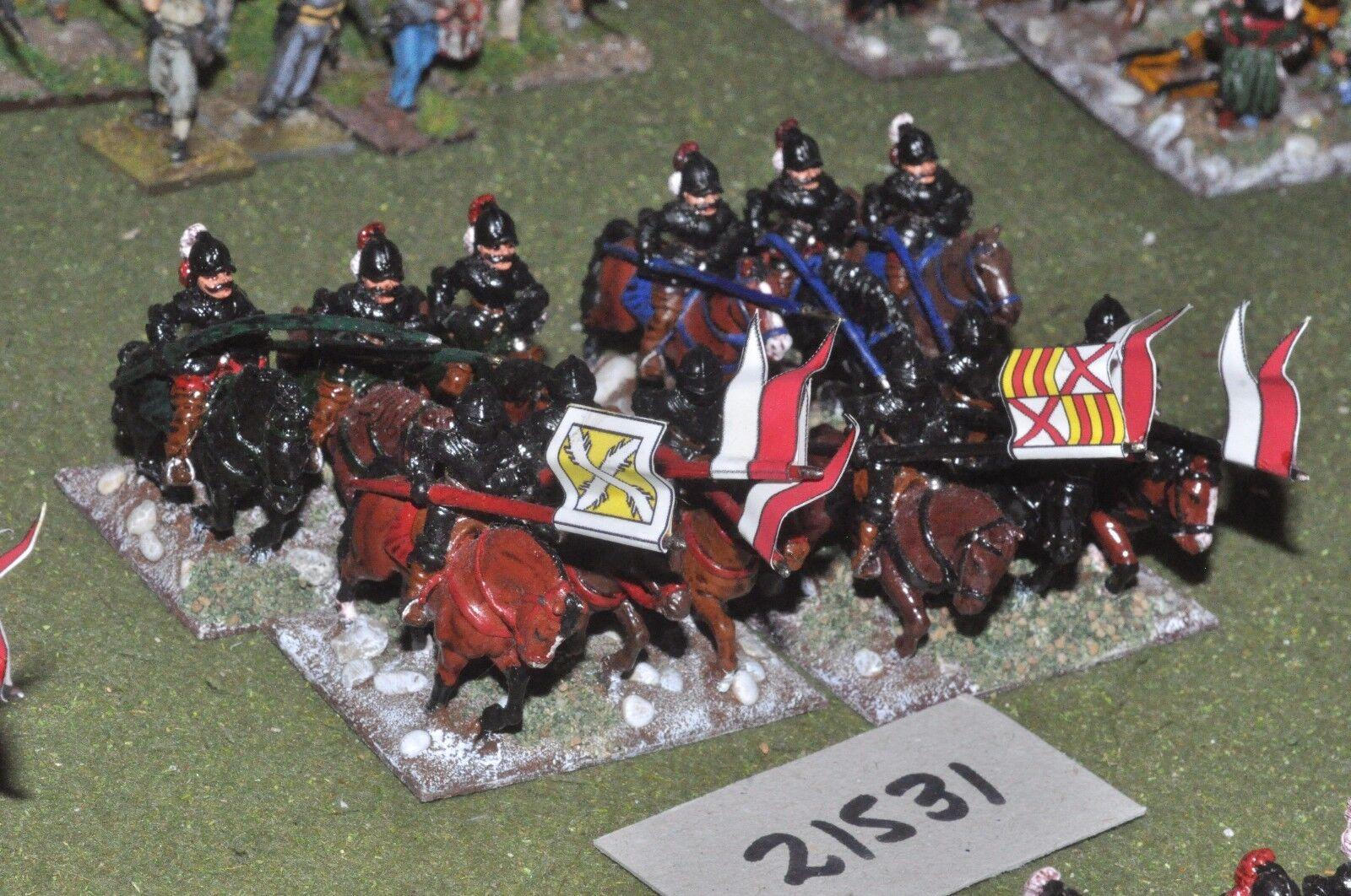 25mm renaissance   imperialistischen - 12 lancers kavallerie - cav (21531)