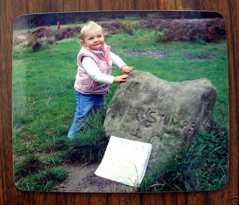 Sets of Personalised Photo Placemats Xmas Birthday Gift