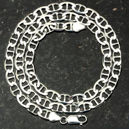 "MARINER 150-20/"" 6mm Heavy 20.5 Gram Italian Link .925 Sterling Silver Chain 20/"""