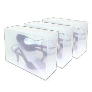 3 DynaSun PP368TG Schuhbox Schuhkasten Box Schuhschachtel x Schuhe Damen Herren