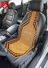 Wood Beaded Seat Cushion Cover Chair Wooden Comfort Auto Car Massage Beads Truck