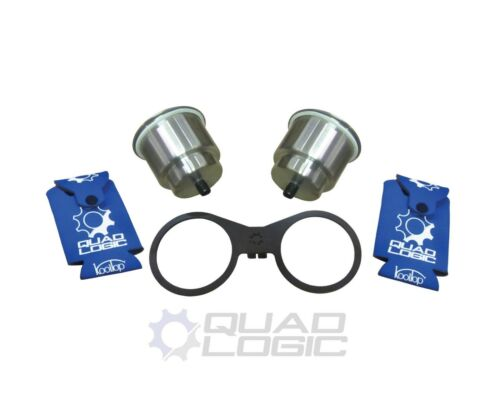 Polaris RZR 570 900 1000 Passenger Grab Handle Cup Holder Kit with Can Koozies