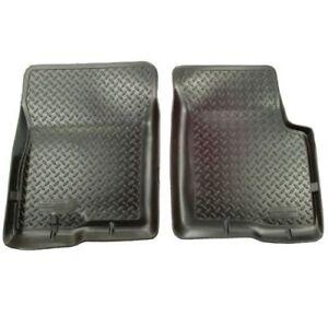 Husky-Liners-32311-1st-Seat-Floor-Mats-Black-For-Blazer-S10-Sonoma-Jimmy-Hombre